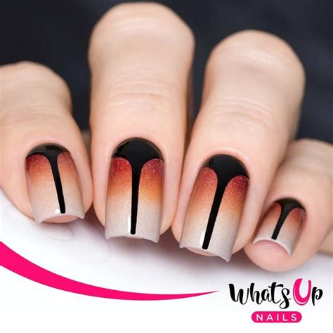 whats new in nail styles whats up nails stiletto tape stencils hypnotic polish