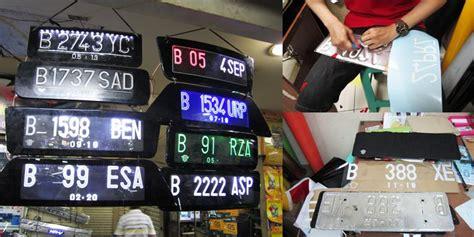 Stiker Timbul Provos Untuk Plat Nomor cara mudah bikin pelat nomor jadi apik kompas