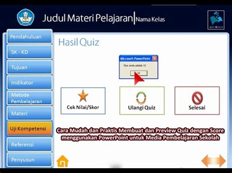 format file video untuk powerpoint tutorial membuat bahan ajar interaktif dengan powerpoint