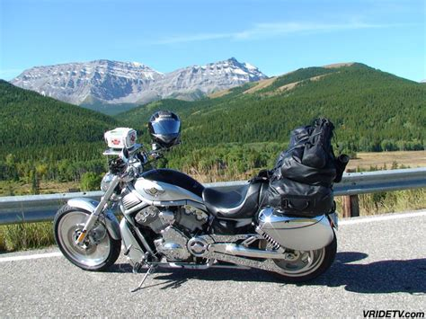 Images of Canada: Motorcycle travel. Sightseeing