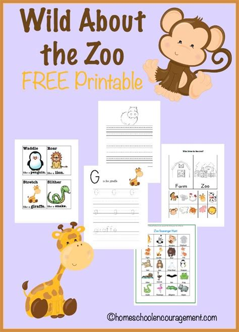 free printable zoo animal worksheets free zoo printable and unit study resources free