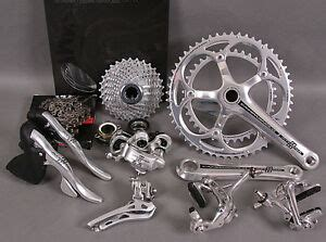 cagnolo athena cassette 11 speed new cagnolo athena 11 speed 9 pc silver alloy