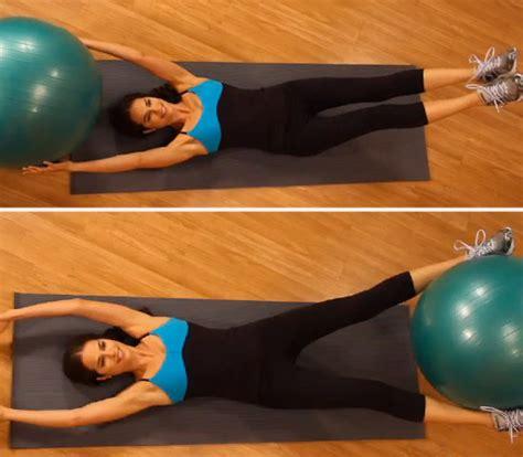 ab exercises using a popsugar fitness