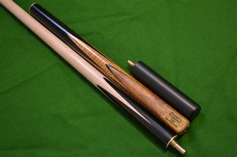 Handmade Cues - 57 quot handmade spliced snooker cue rosewood