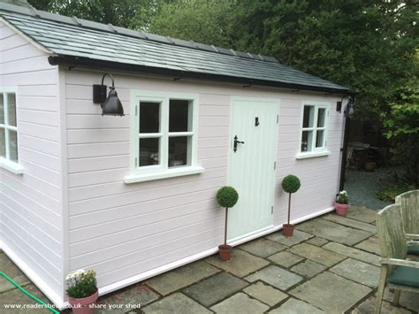 Craft Shed by Pink Craft Shed Cabin Summerhouse From Garden Owned By