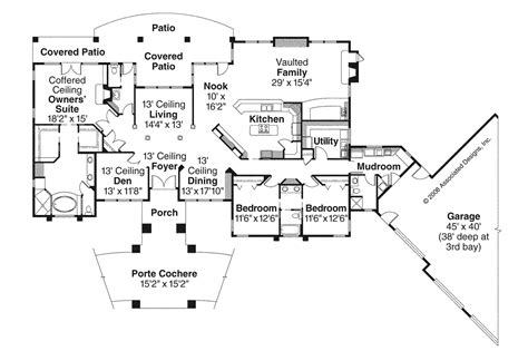 prairie style floor plans prairie style house plans westfair 30 445 associated