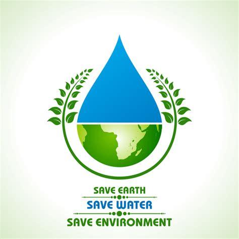 free logo design and save save environment design vector material 01 vector logo
