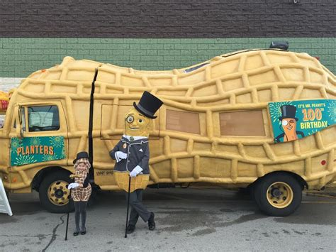 Planters Nutmobile by Planters Nutmobile Coming To Arlington Next Week Arlnow