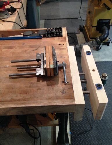 wood workbench upgrade workbench upgrade by mainiac matt lumberjocks