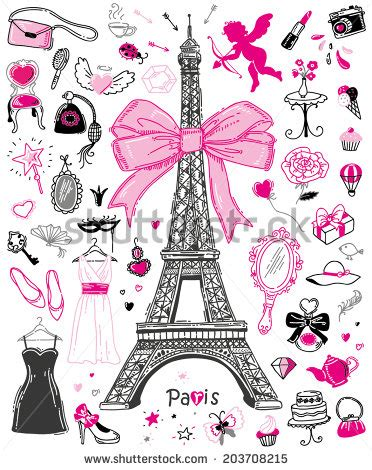 girly doodle wallpaper girly stock images royalty free images vectors