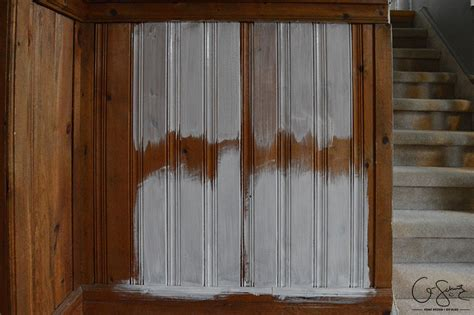 whitewash wood paneling painting vs whitewashing panelling and brick q