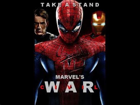 aktor film marvel spiderman civil war 2016 nuevo actor marvel youtube