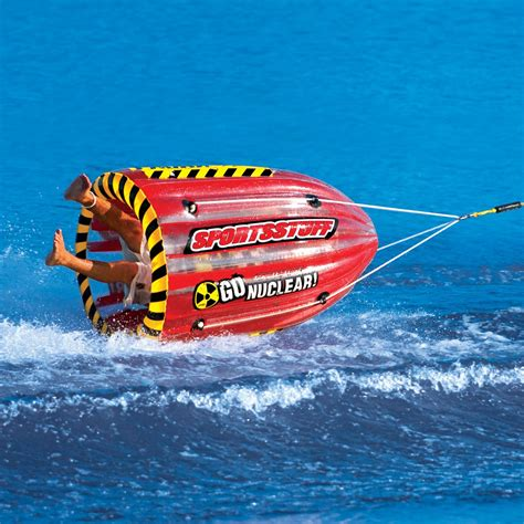 gyro boat gyro inflatable single rider towable airhead
