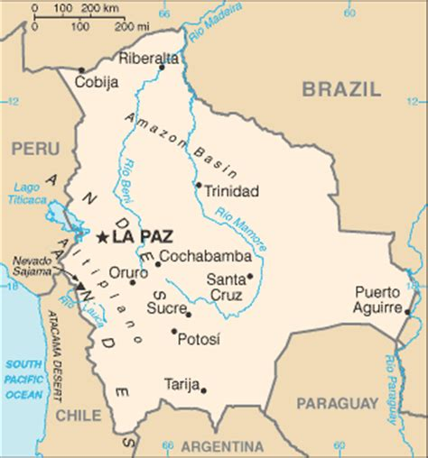 neighboring countries of brazil bolivia facts and figures