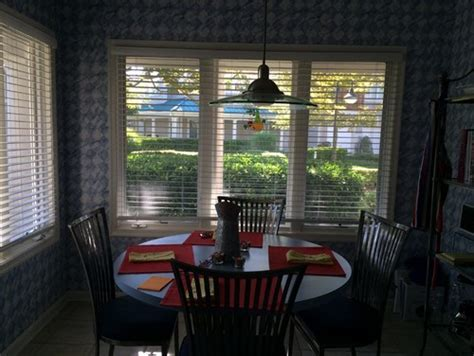 Transforming a breakfast nook into a office space.