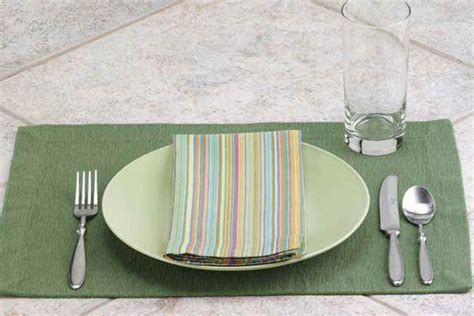 simple table setting how to set a table taste of home