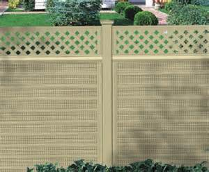 Pvc Trellis Panels Royal Acoustic Plastic Fencing Residentiel Vinyl