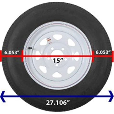 what is the section width of a tire how to determine tire wheel diameter etrailer com