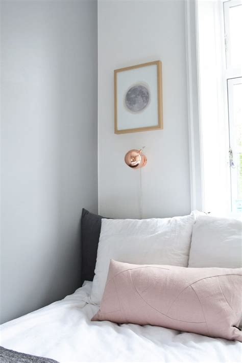 Scandinavian Inspired Bedroom by White Grey And Copper Master Bedroom Get Inspired