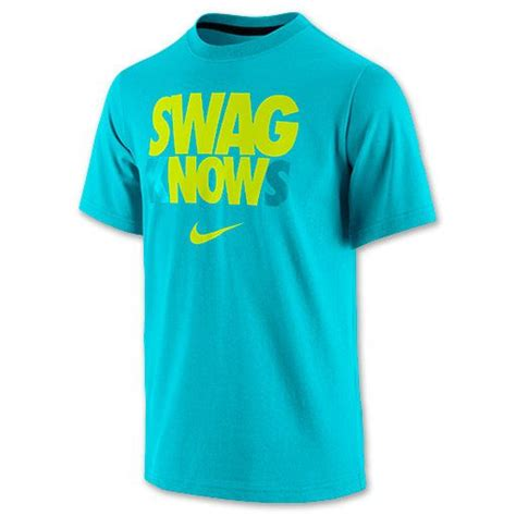 T Shirt Nike Claiborne Knows nike swag knows t shirt finishline gamma blue cyber nike gear nike