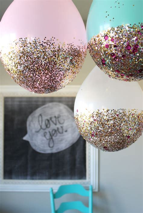 glitter decorations cinderella birthday ideas