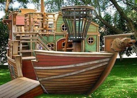 backyard pirate ship pirate ship play house design adding to backyard ideas