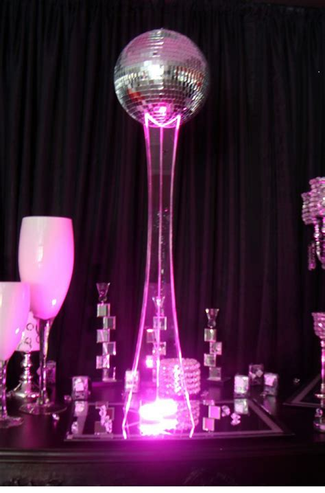 1000 images about disco centerpieces on