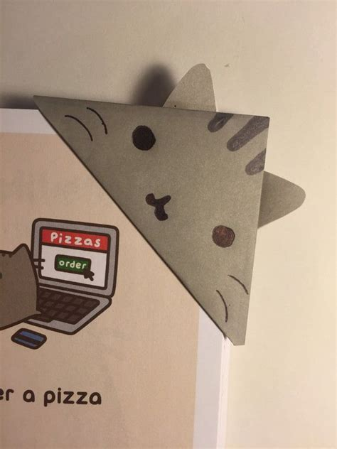 Origami Cat Bookmark - best 25 origami bookmark ideas on paper