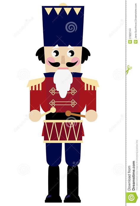 stock images cute retro nutcracker image