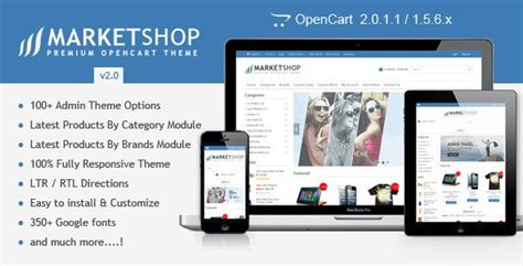 themes wordpress premium nulled marketshop v2 0 multi purpose premium opencart theme
