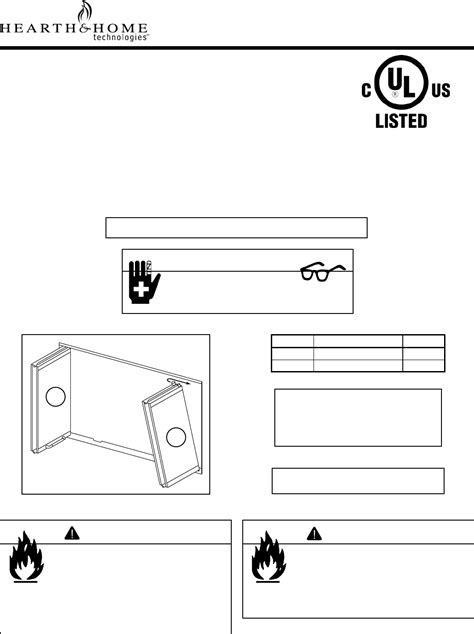 hearth and home technologies door dm1036 user guide