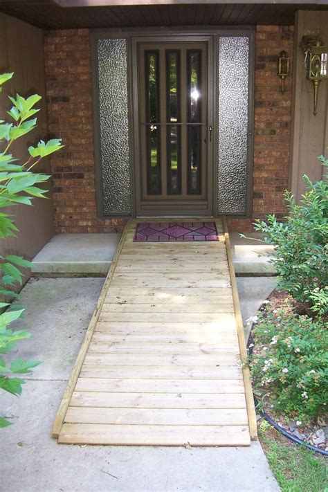 ideas  wheelchair ramp  pinterest handicap ramps handicap accessible home