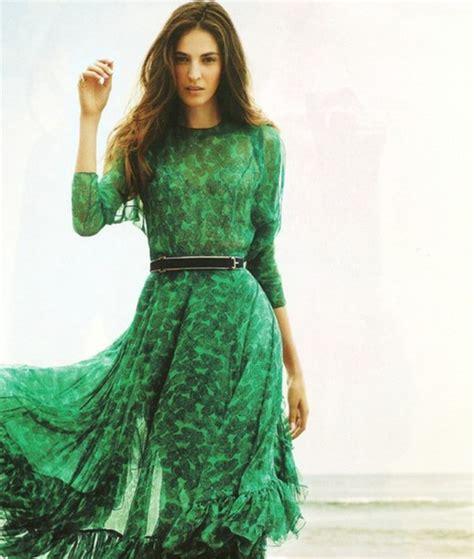 emerald green long sleeve dress dress long sleeves pattern ruffled trim skirt emerald