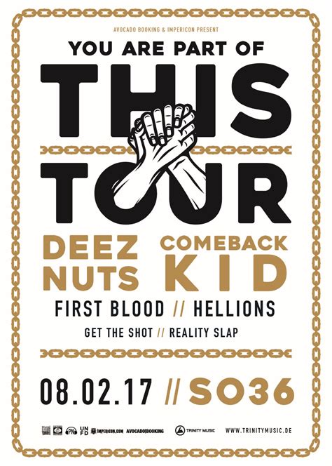 deez nuts dresden comeback kid deez nuts am 08 02 2017 in berlin so36