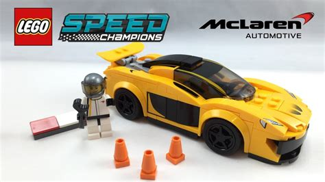 lego mclaren lego mclaren p1 speed chions set review 75909