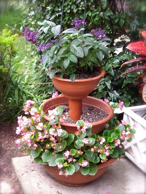 64 Best Images About Diy Tiered Planter On Pinterest Patio Garden Planters