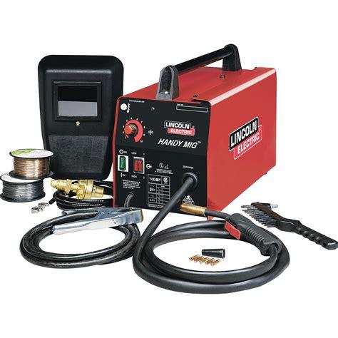tembakan gas gun torch alat las gas portable lincoln electric handy mig flux mig welder with