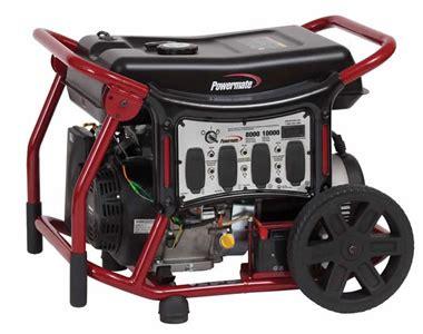 8000watt Electric Start Honda Generator by Powermate Pm0148000 8000 Watt Portable Generator W