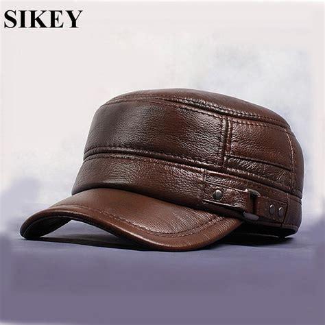 aliexpress buy hl064 genuine leather flat peak