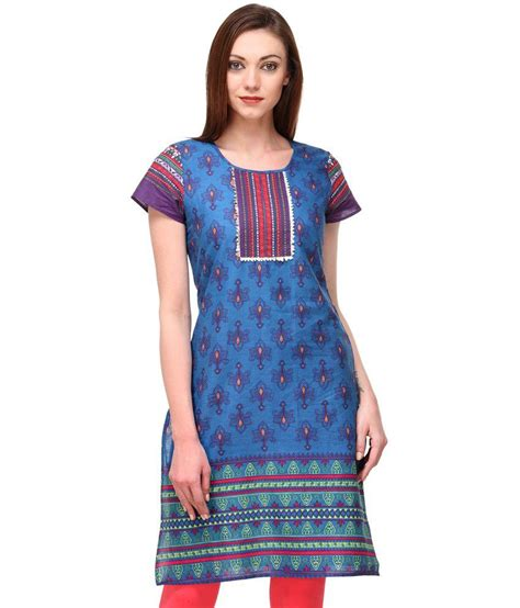 globus blue cotton printed neck kurti price in india buy globus blue cotton printed motif blue cotton printed neck kurti price in india buy motif blue cotton printed