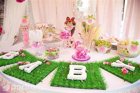 Garden Baby Shower Ideas Kara S Ideas Shabby Garden Baby Shower Kara S