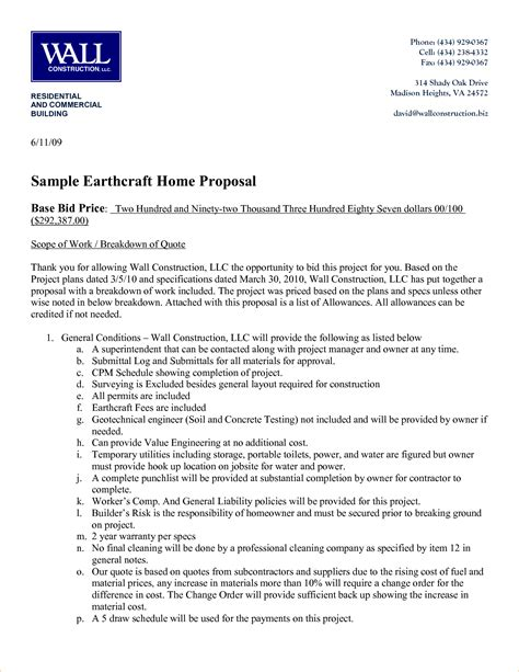 invitation to bid construction template free construction template business