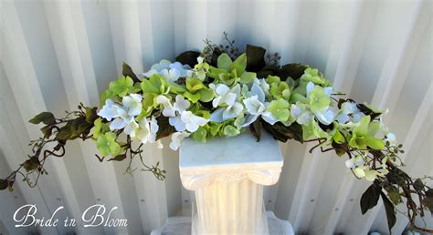flower decoration for wedding orchid arch swag wedding decorations lime by