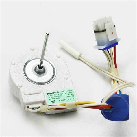 ge evaporator fan motor wr60x10307 ge refrigerator evaporator fan motor ebay