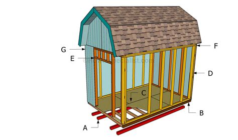 How To Build A Shed R by Building A Shed On Concrete Pad Diy Chellsia