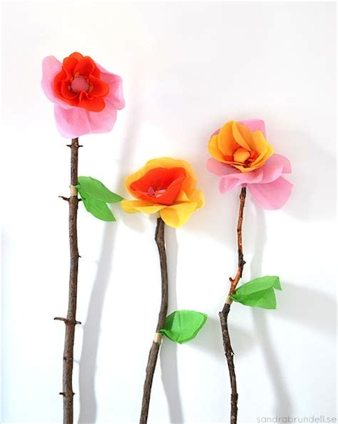 flower craft projects things to make and do crafts and activities for