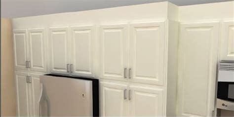 how to fill gap between cabinet and ceiling don t let the ikea home planner ruin your kitchen
