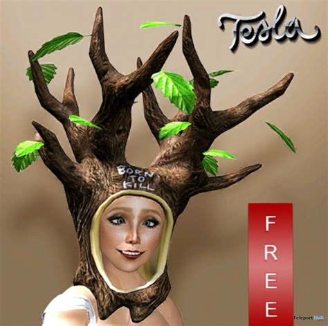 tree hat by tesla teleport hub second freebies