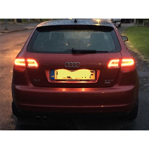 Audi A3 Led by A3 Facelift Led Rear Lights Audi Sport Net