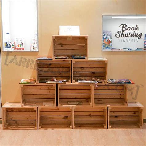 cassette legno usate mobili con cassette di legno riciclo cassette legno